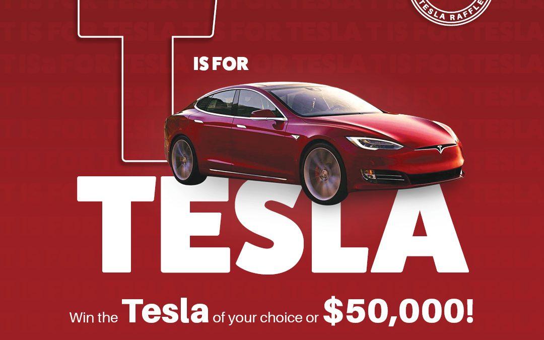 Tesla Raffle 2020