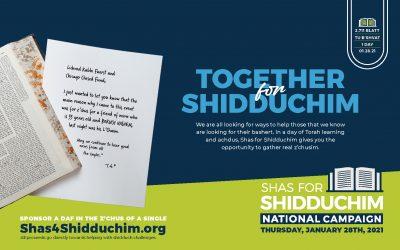 Shas For Shidduchim 2021